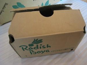 小箱(トマト入り)