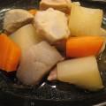 筑前煮風里芋と大根の煮物