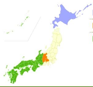 地域限定ぱれっとの生産地